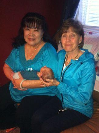 Grandma Lynn and Grandma Janice