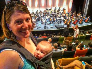 Dorian's First Concert!
